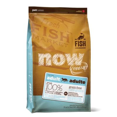 Now! 鮮魚無穀天然糧 成貓配方(4磅)