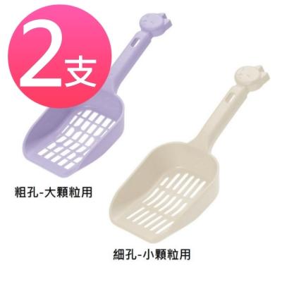 日本Richell 卡羅貓便盆用貓砂鏟 (兩支)
