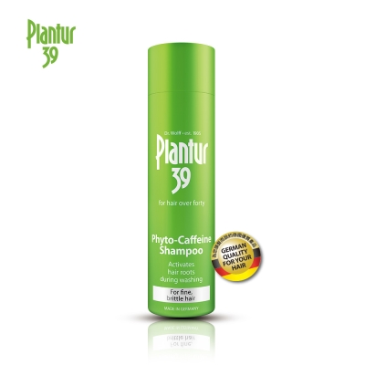 Plantur39 植物與咖啡因洗髮露-細軟脆弱髮250ML