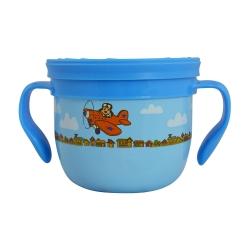 美國Eco Vessel 不鏽兒童點心杯 - 小飛狗藍475ml