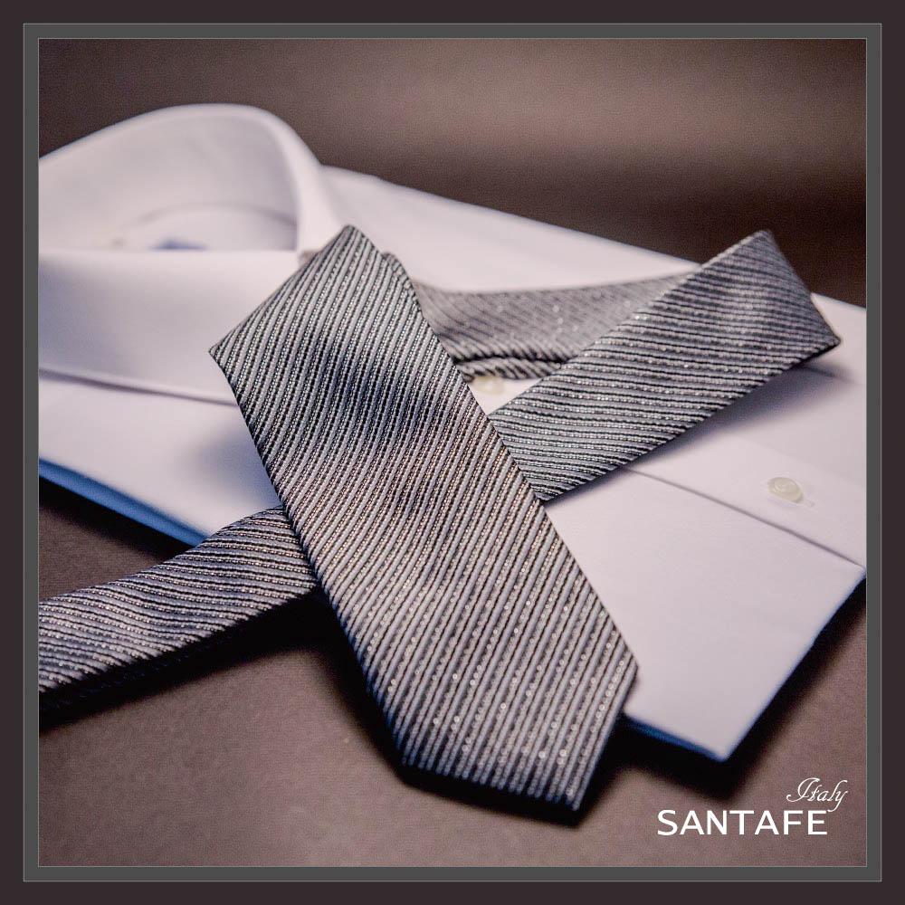 SANTAFE 韓國進口中窄版7公分流行領帶 (KT-188-1601013)