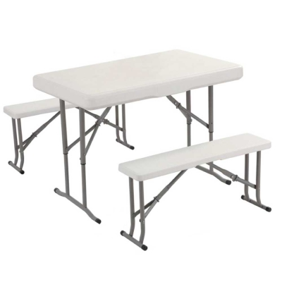 UMO 戶外休閒桌椅 四人座 野餐 露營 開會 聚餐 (1桌2椅)