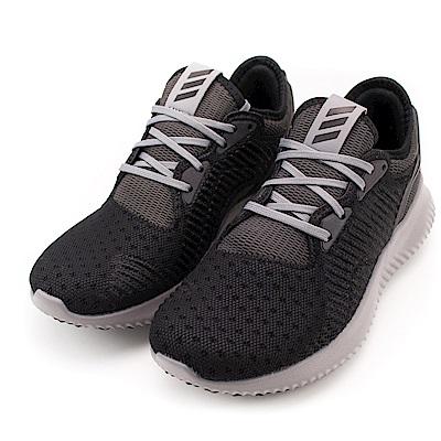 ADIDAS-BY4251 女慢跑鞋-黑灰