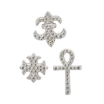 apm MONACO法國精品珠寶  精美時尚三種個性造型耳環