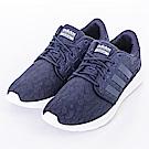 ADIDAS-CF QT RACER女休閒鞋-藍