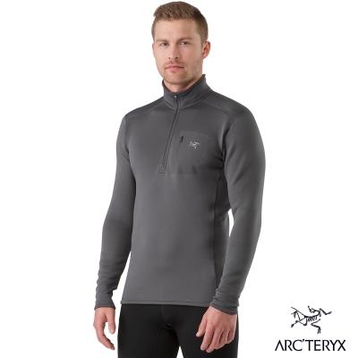 Arcteryx 始祖鳥 男 Rho AR 刷毛套頭衫 灰