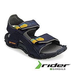 RIDER 巴西-童 TENDER IX 運動涼鞋 藍灰色