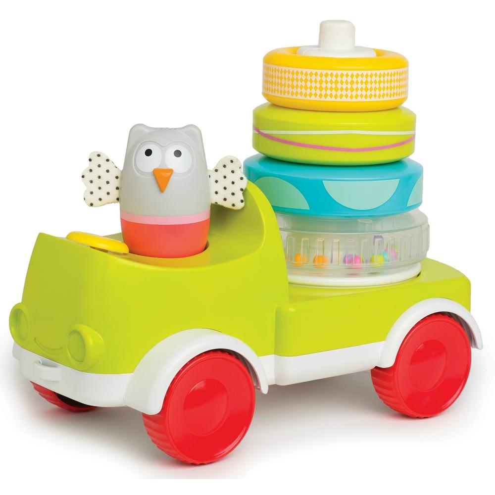 taf toys五感開發系列-爬行疊疊樂