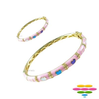 彩糖鑽工坊 親子手環&親子手鍊 糖瓷手鍊 (粉色) 初生之喜彌月禮