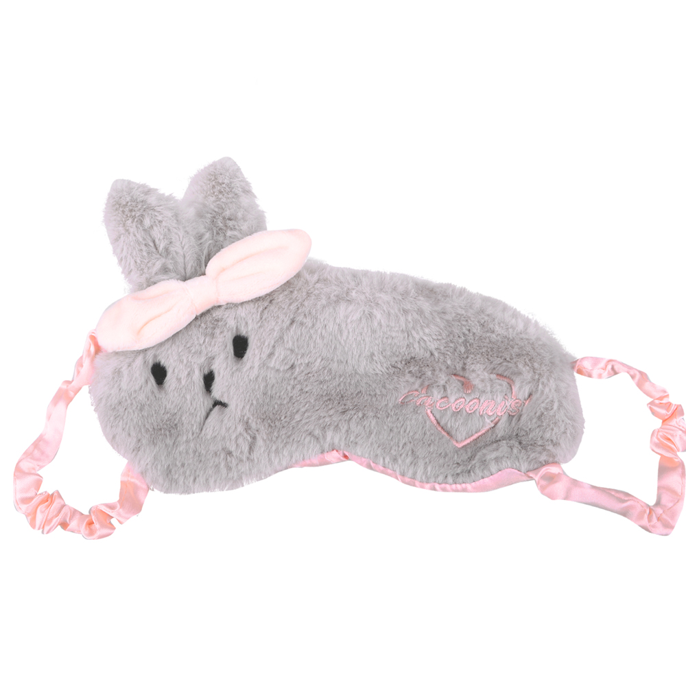 Sweet Dream 睡眠眼罩.護眼罩 (灰色毛兔)