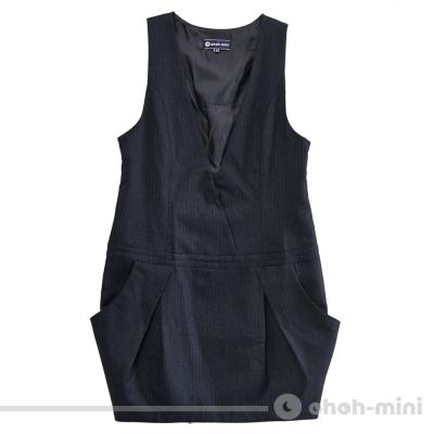 【ohoh-mini 孕婦裝】深V視覺時尚哺乳背心洋裝