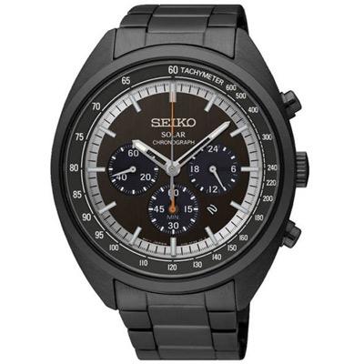 SEIKO 太陽能(SSC623P1) 三眼計時IP大錶徑錶x45mm