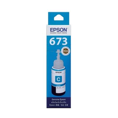 EPSON T673200 原廠藍色墨水匣