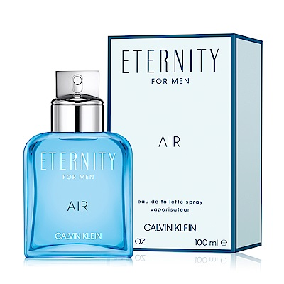 Calvin Klein CK Eternity Air 永恆純淨男性淡香水100ml