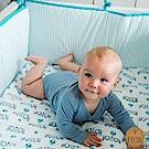 荷蘭 FRESK 有機棉嬰兒防撞半床圍 (多款可選)