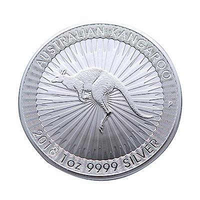 澳洲柏斯2018袋鼠銀幣(1盎司)