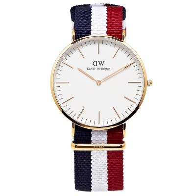 DW Daniel Wellington 經典Cambridge腕錶-白/40mm