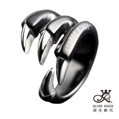 原生飾代SilverKings-舞爪之二-316L白鋼戒指