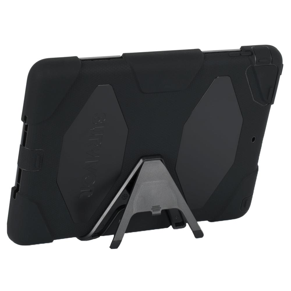 Griffin Survivor iPad Air超強矽膠保護套組(附觀賞支架)