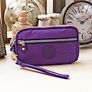 COUNT DUCK 美系悠活輕量輕巧零錢包-大-KS-004-紫色