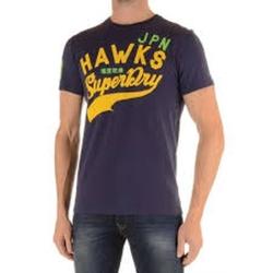 極度乾燥SUPERDRY  短袖 文字T恤 紫色