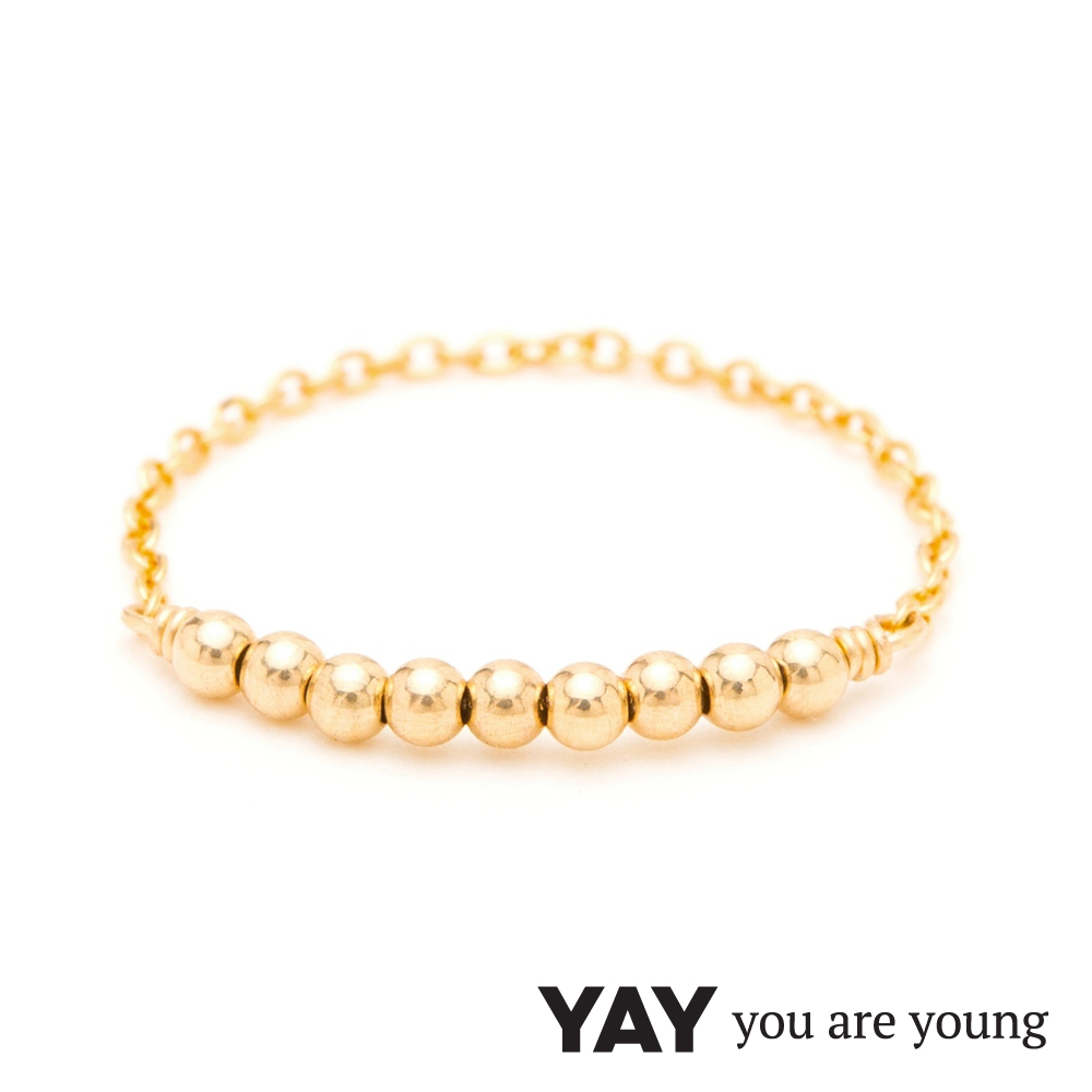 YAY You Are Young 法國品牌 Fruit Dor 雅果戒指 迷你款 金
