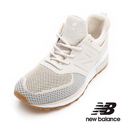 New Balance 574復古鞋WS574WA-B女性淺咖啡