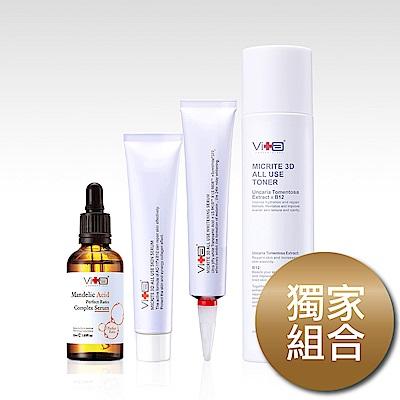 Swissvita薇佳 微晶3D化妝水+全能精華+杏仁酸+美白精華