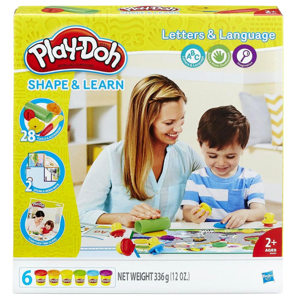 培樂多Play-Doh 創意DIY黏土 英文字母學習遊戲組 B3407
