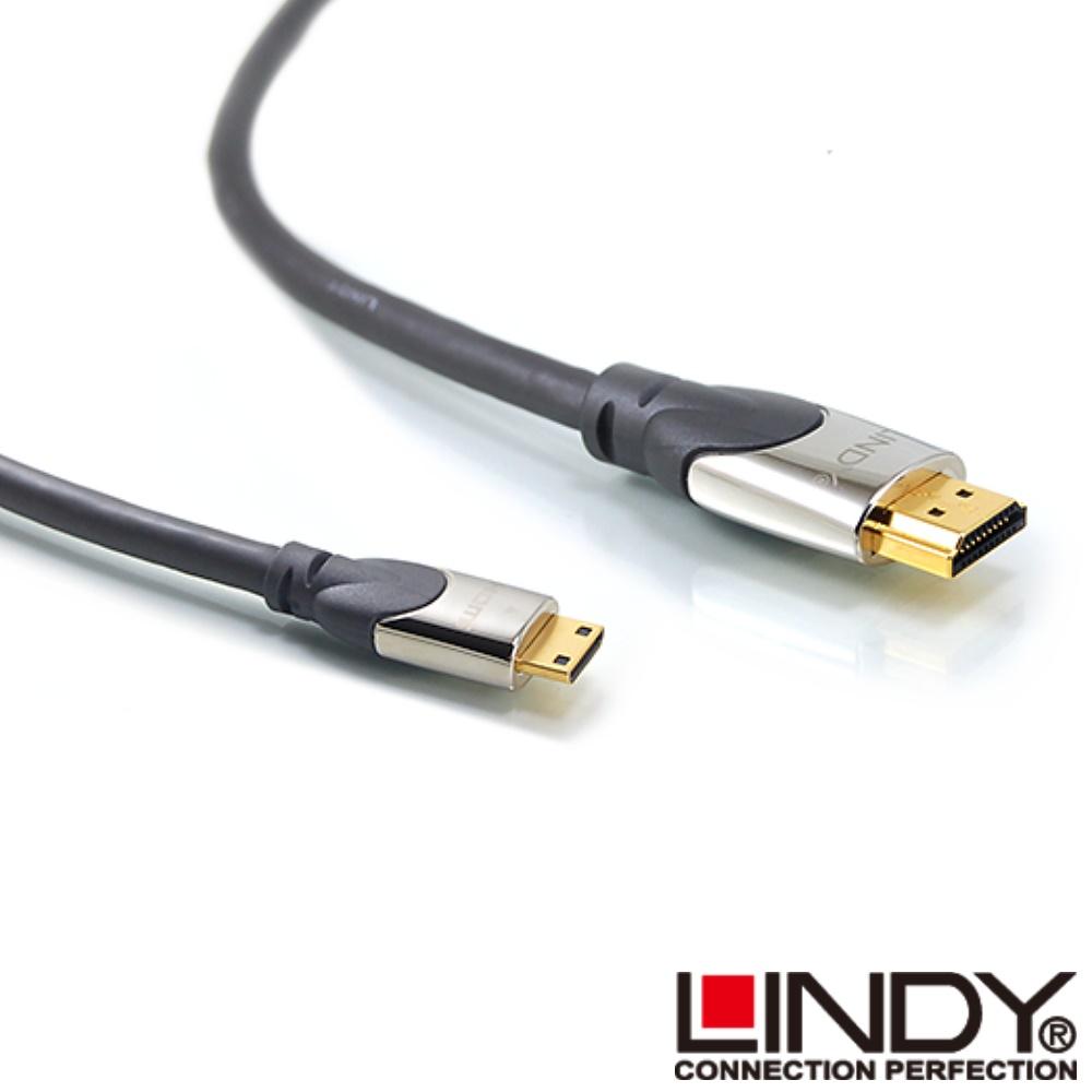 LINDY CROMO鉻系列 A公對C公 HDMI 1.4 連接線 1m (41436 )