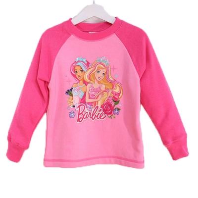 芭比厚款長袖T恤 桃粉k60307