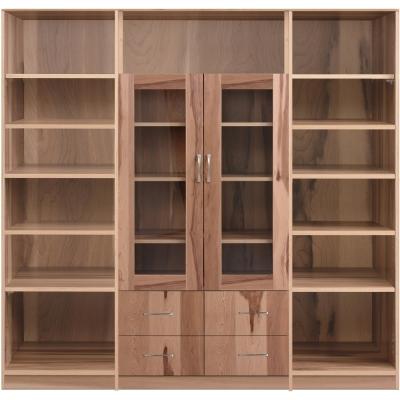 aaronation 雷思克設計師180~240cm框型玻璃抽屜收納櫃-量身訂製系統家具
