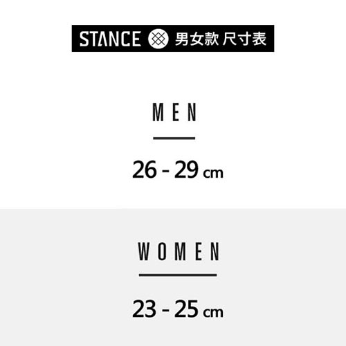 STANCE HOLIDAY:GRIM-男襪-不對稱襪