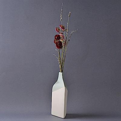 Serax 比利時 三角高身花器四色(灰) D9 H22.5 (S)
