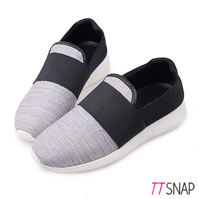 TTSNAP懶人鞋-MIT都會運動風輕量休閒鞋 灰