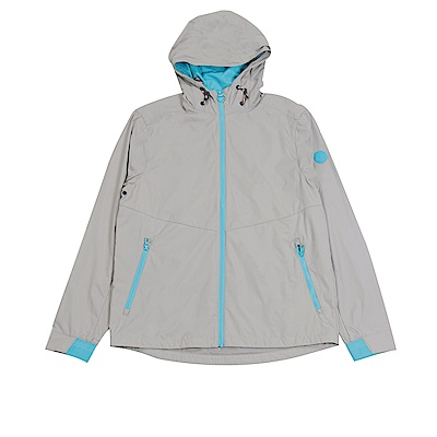Timberland 男款淡麻灰色Mountain運動夾克