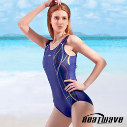 Heatwave 熱浪 加大泳裝 連身三角-健泳嬌娃