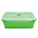 Quasi疊樂矽膠長保鮮盒 綠 1500ml (8H)