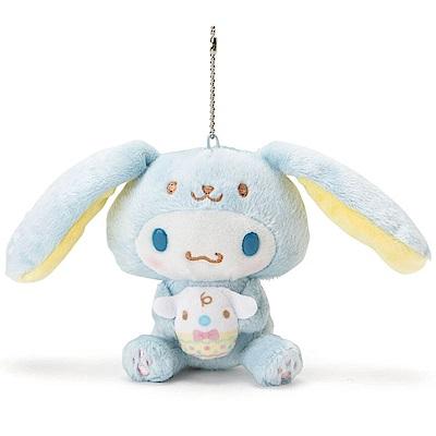 Sanrio 大耳狗喜拿裝扮長耳兔造型玩偶吊鍊(好朋友彩蛋)