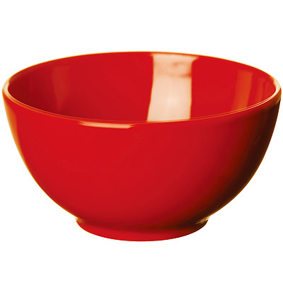 EXCELSA Trendy陶餐碗(紅14.5cm)