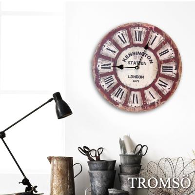 TROMSO無框畫時鐘-倫敦老城圓形