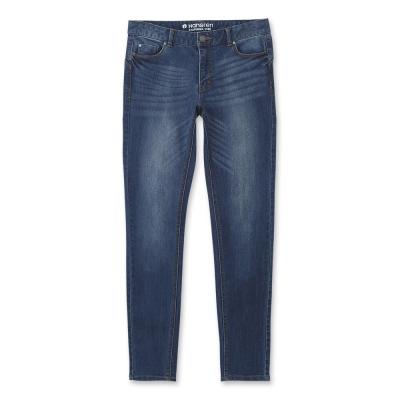Hang Ten -女裝 -經典必備Lycra窄管丹寧褲 -深藍