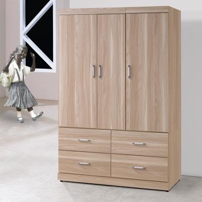 Homelike 霍爾4X6衣櫃-114x54x179cm