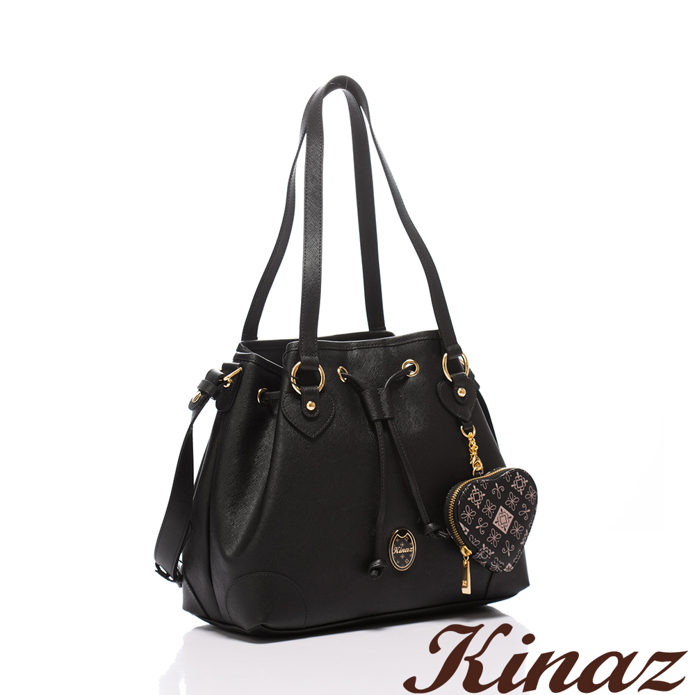 KINAZ - Dizzying糖果色天空系列~純淨夢遊多Way包-甜蜜黑