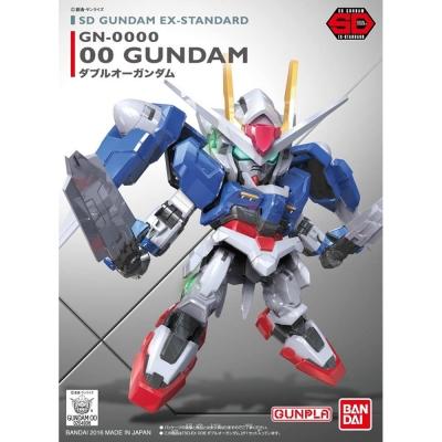 任選 BANDAI SD鋼彈 EX-S系列 OO鋼彈 008