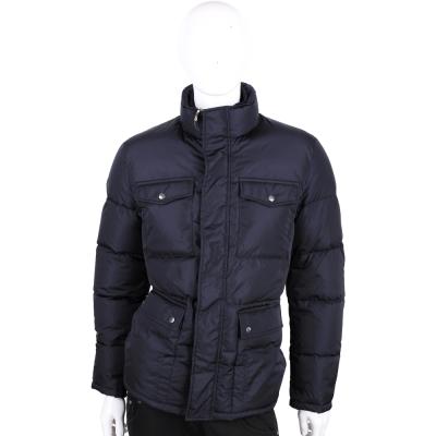 GUCCI 深藍色口袋設計羽絨外套(男款)