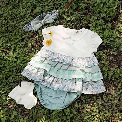 pippy 蛋糕裙小洋裝禮盒 綠