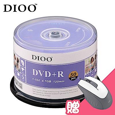 DIOO 海洋版 16X DVD+R 150片桶 (加贈M31光學滑鼠)