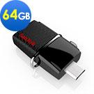 SanDisk Ultra Dual OTG 雙傳輸 USB 3.0 隨身碟 64GB-公