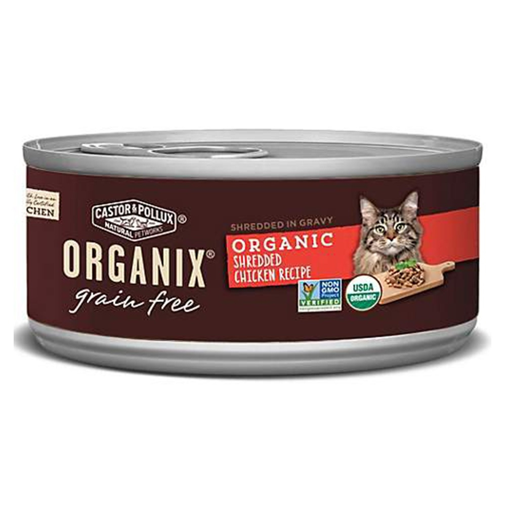 Organix 歐奇斯95%有機主食貓餐罐85克(3oz) X12罐組